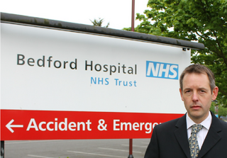 Stephen Rutherford at Bedford Hospital