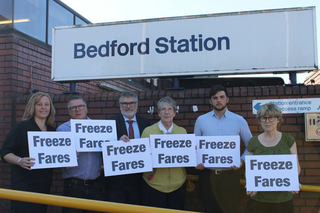 Freeze Fares - Dave Hodgson, Christine McHugh, Tim Caswell, Wendy Rider, Jake Sampson and Hilde Hendrickx