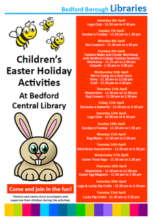 Bedford Library Easter 2019