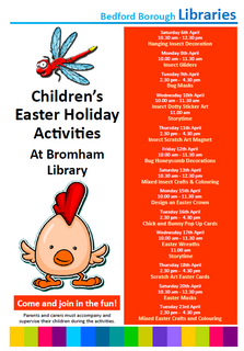 Bromham Library Easter 2019