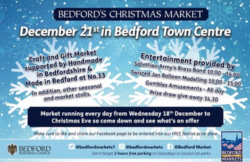 Bedford's 2019 Christmas Market