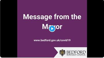 Message from the Mayor Video Title Screen
