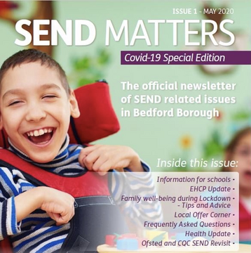 Bedford Borough SEND Matters Newsletter First Edition Cover