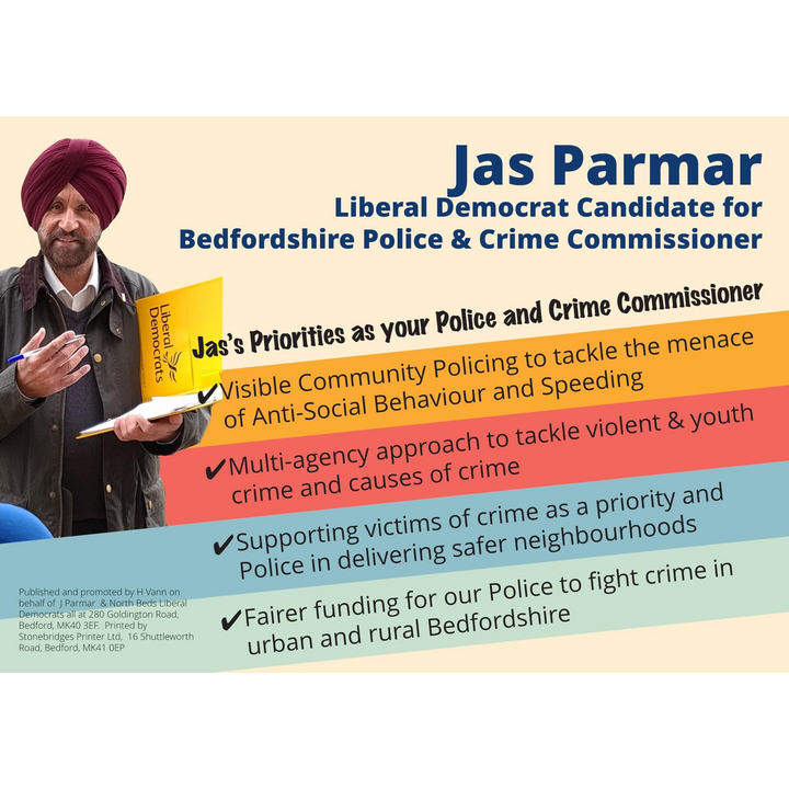 Jas Parmar's PCC Priorities