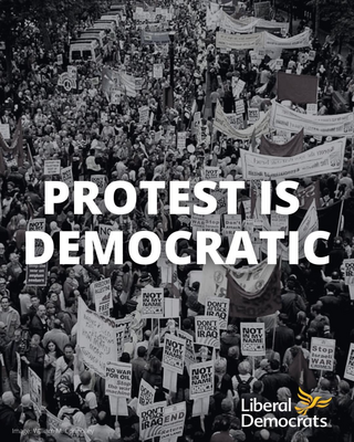 Stop the Conservatives' Protest Crackdown Law Graphic